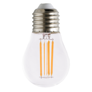 Żarówka dekoracyjna LED filament G45 4W E27
