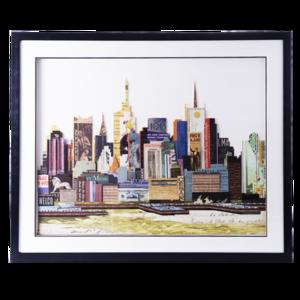 Obraz przestrzenny New York B 104-9072